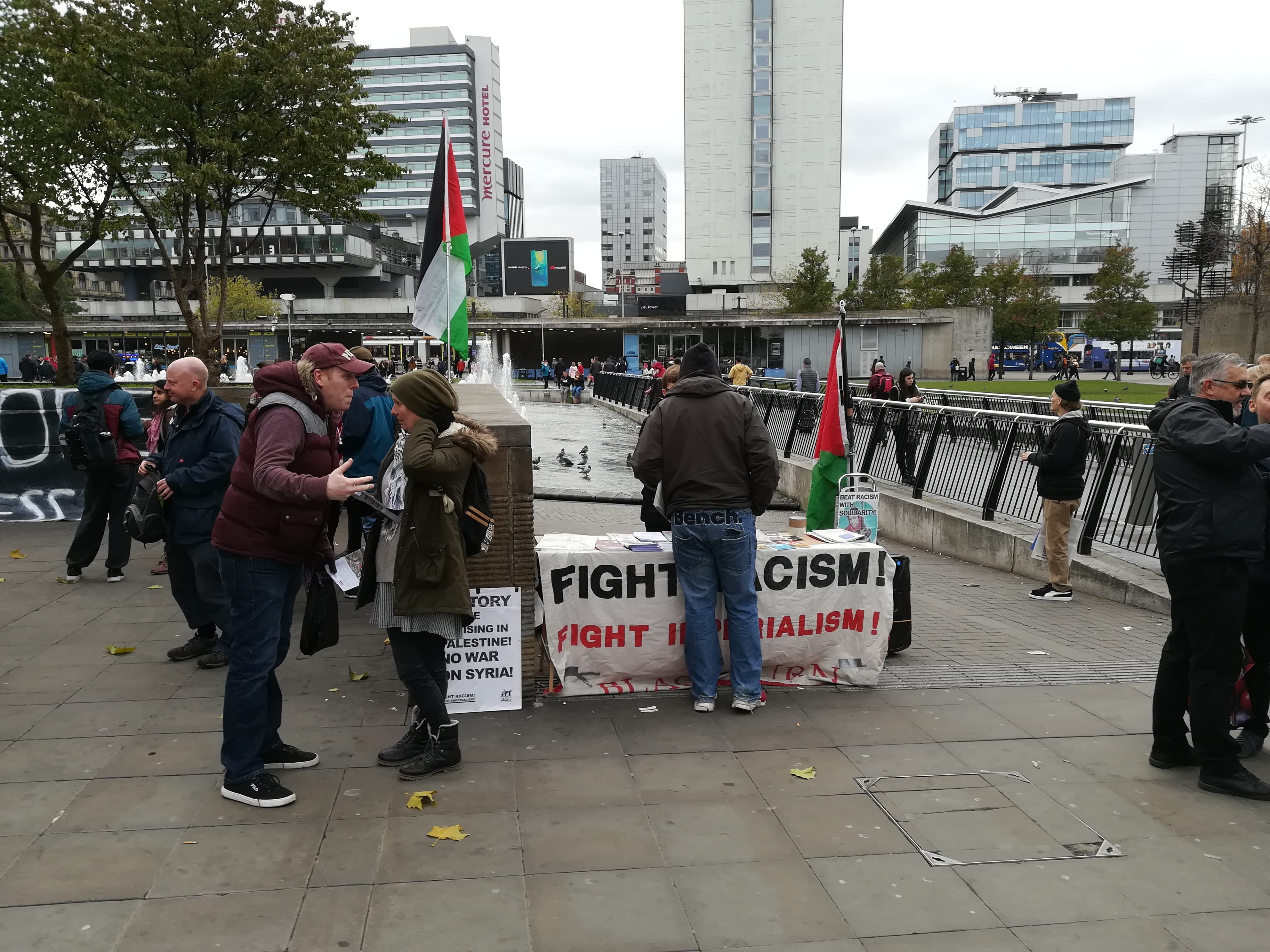 Fight Racism Fight Imperial and Palestine Solidarity Campaign Manchester stop arming Israel