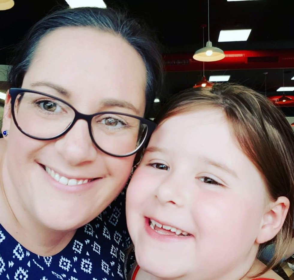 Leanne and Erin (Daughter)