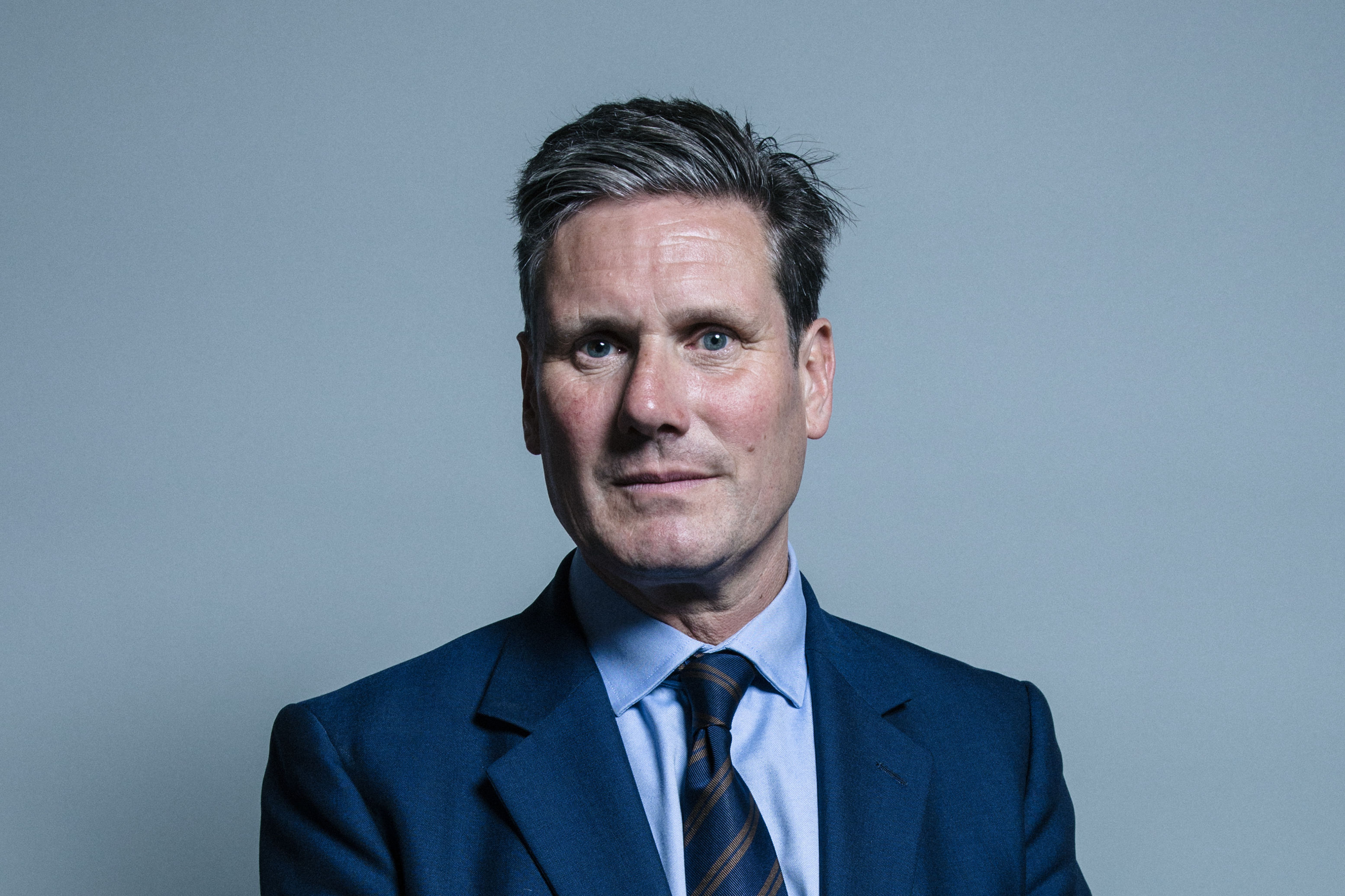 Official portrait of Keir Starmer