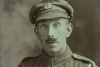 WW1 Soldier Private Richard George Masters winner of the Victoria Cross in 1918